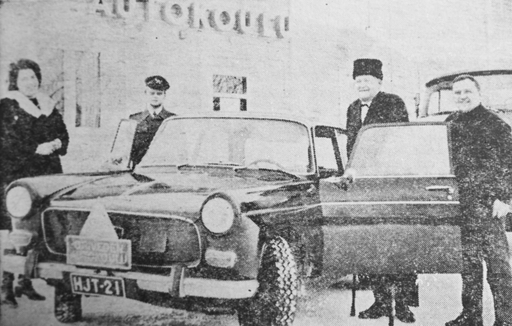 Vanha artikkeli, Oriveden Sanomat, autokoulu